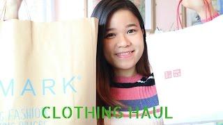 HUGE SPRING CLOTHING HAUL   Primark, Uniqlo   Nhung Truong