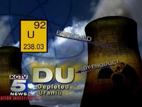 KCTV5 NEWS INVESTIGATION Weapon Of Choice Pt 1 - Depleted Uranium
