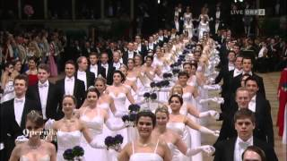 Polonaise debutants Opera Ball 2014 in Vienna