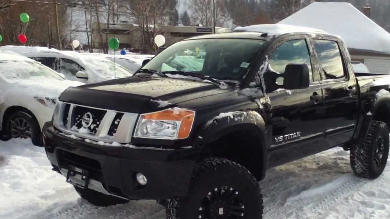 2013 Nissan Titan Pro 4x Lifted Youtube