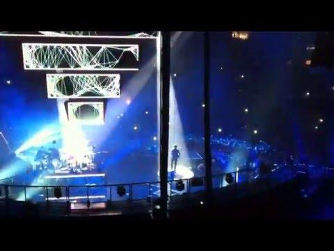 Muse Knights of Cydonia Palacio de los deportes Madrid 20 10 2012