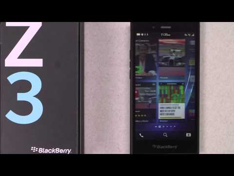 Official BlackBerry Z3 Unboxing Video