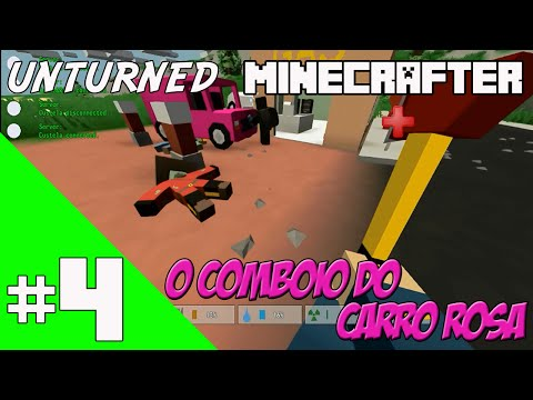 Unturned - O Comboio Do Carro Rosa