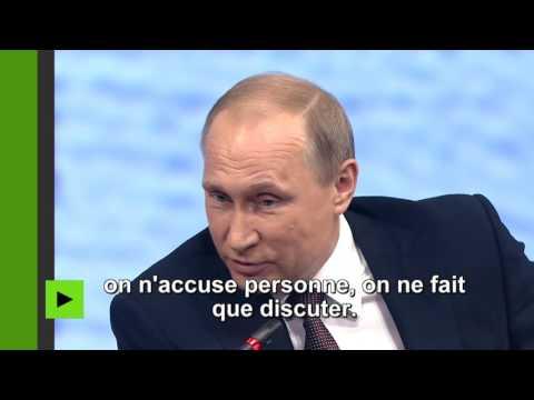 Vladimir Poutine : Donald Trump est une personne haute en couleur