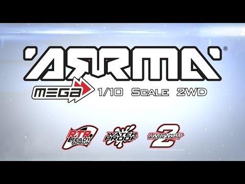 ARRMA MEGA Ready-to-Run 1/10 Scale 2WD Vehicles
