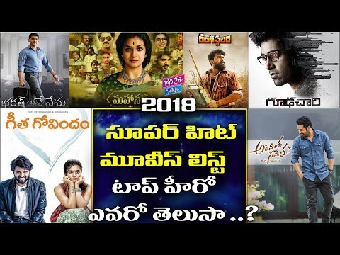 2018 Super Hit Films In Telugu Industry | Ram Charan | Vijay Devarakonda | YOYO Cine Talkies