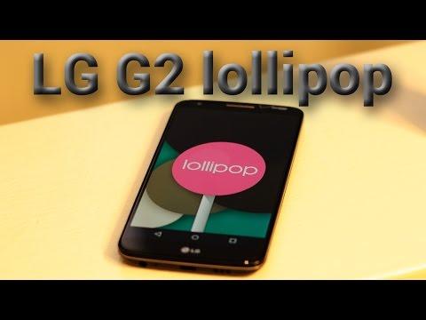 LG G2 Lollipop
