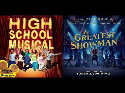 Zac Efron/Zendaya/Vanessa Hudgens - Rewrite the Stars & Breaking Free - HSM/The Greatest Showman