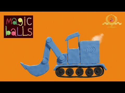Magic Balls - Dozer - Educational cartoons for kids