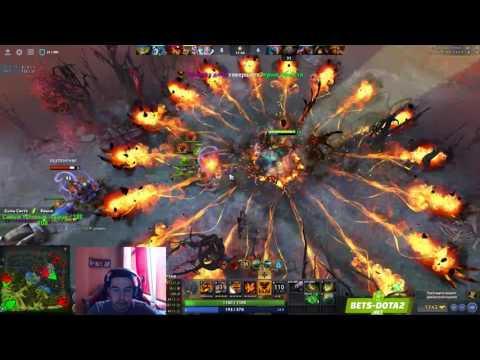 Stray228 Play's Shadow Fiend | 22/07/17 | БАЙТ НА АФК | 2934 MMR