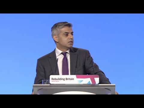 Sadiq Khan's speech to Labour Party Annual Conference 2012