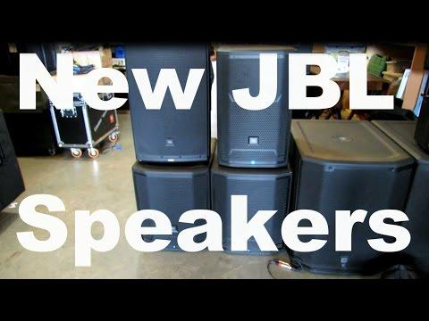 New JBL Speakers