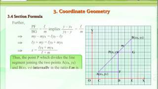 Coordinate Geometry – Section Formula – CBSE, Math,Class 10