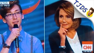 Nancy Pelosi Repels Young People On CNN Town Hall