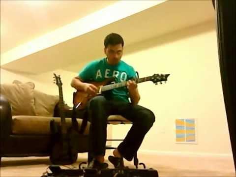 Nadaan parinde ghar aaja rockstar guitar cover.wmv