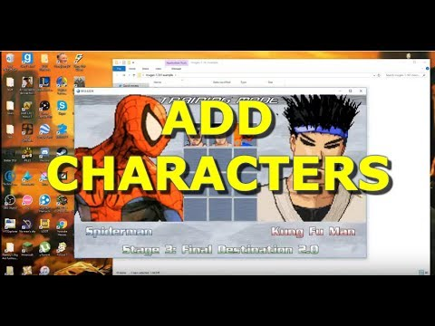 How to Add Characters in Mugen 2017