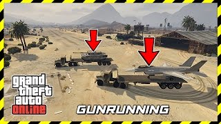 GTA 5 GUNRUNNING MILITARY DLC - ARMY VEHICLES, NEW WEAPONS, SECRET BASE & MORE! (GTA ONLINE UPDATE)