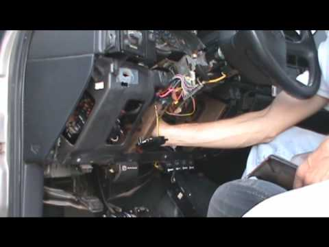 How To Install Replace Turn Signal Cruise Control Wiper Switch Silverado Sierra 99 02 1AAuto on gmc sierra inner tie rod