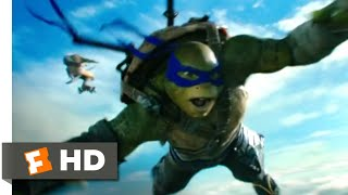 Teenage Mutant Ninja Turtles 2 (2016) - Turtles Can Fly Scene (7/10) | Movieclips