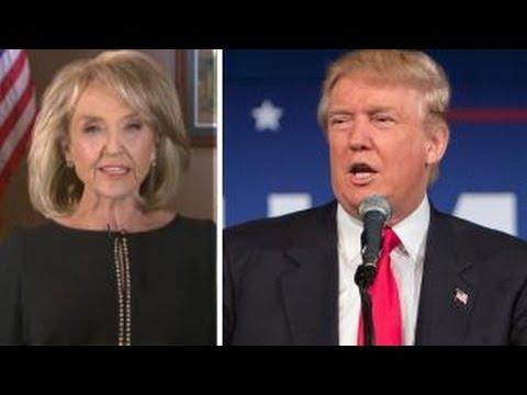 Ex-Gov. Jan Brewer on Trump's border wall plan