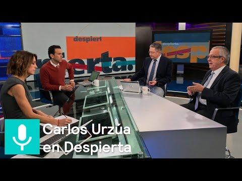 Carlos Urzúa, futuro secretario de Hacienda, en la mesa de Despierta - Despierta con Loret