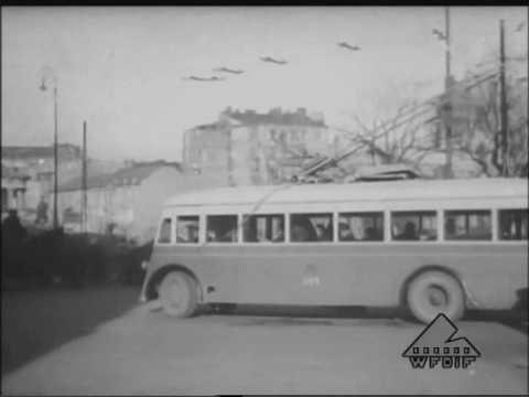 Pierwsze Trolejbusy W Warszawie (PKF 3-4/1946)