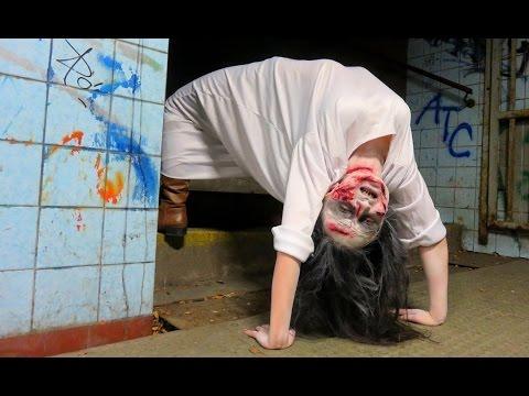 Exorcist Demon Spider Walk Prank Youtube
