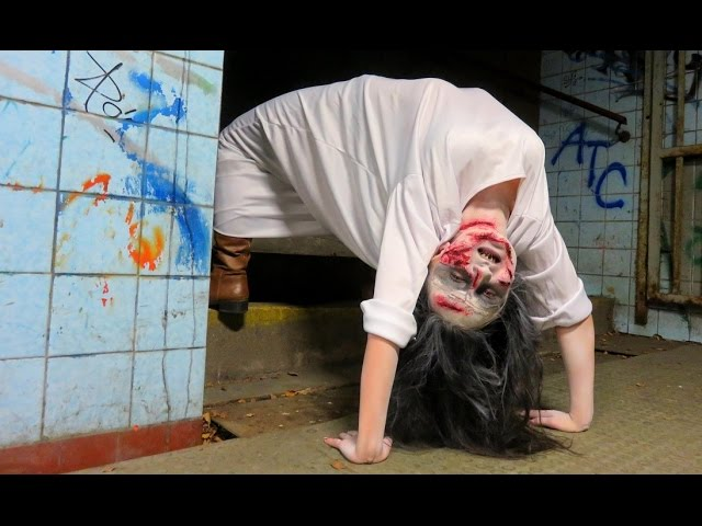 Exorcist Demon Spider Walk Prank!