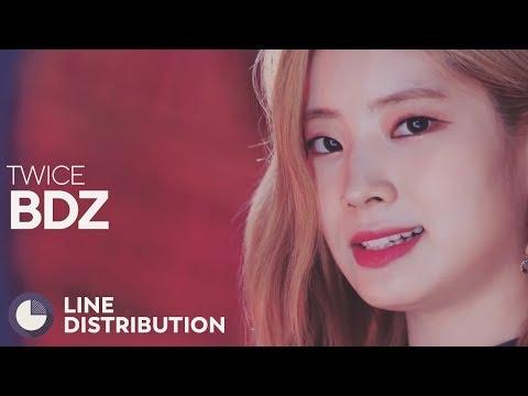 TWICE - BDZ (Line Distribution)