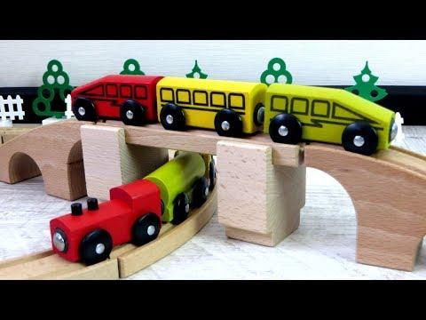 Toy train videos for children - train for kids - train videos - Toys and videos for kids