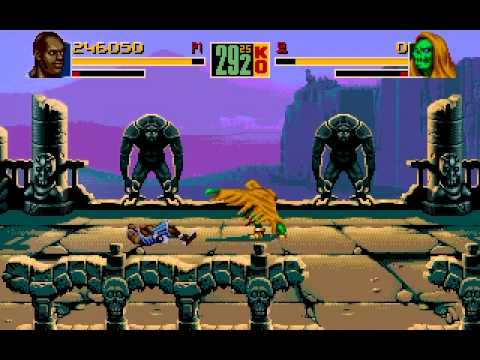 Shaq fu (Genesis): Story Mode Part 1