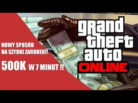 NOWY SPOSÓB JAK ZAROBIĆ W GTA ONLINE !!