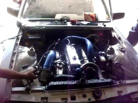CHEVETTE C/ MOTOR DE OPALA 4cc PRIMEIRA PARTIDA COM BLOWER MARSHALL J50.