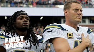 Can the Chargers afford to lose Melvin Gordon with aging QB Philip Rivers? | First Take