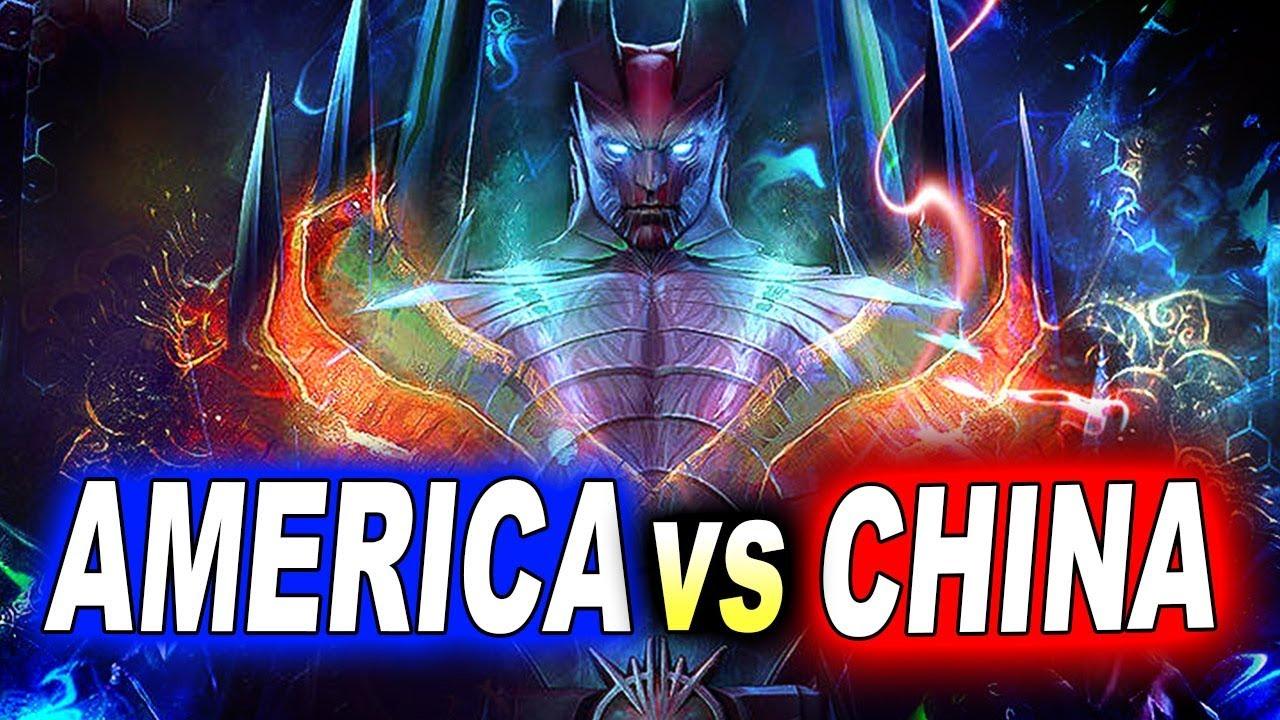 EHOME vs FORWARD + MAJESTIC - AMERICA vs CHINA - DOTA PIT Minor 2019 DOTA 2