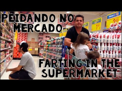 Peidando no Mercado | Farting in the Supermarket