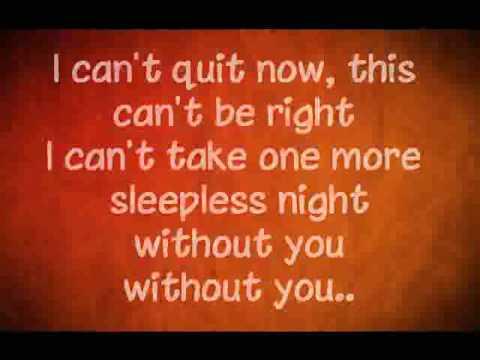 Adele without you lyrics