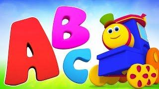 ABC Nursery Rhymes  | ABC Song Nursery Rhymes  | Alphabet Song Bob The Train Videos - Kids TV