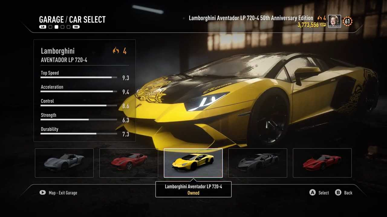 Need For Speed Rivals Car List Need for Speed Rivals ...