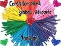 CORTADOR DE GLOBOS ADAPTADO . ( GLOBOFLEXIA )