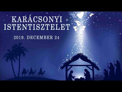 Karácsonyi istentisztelet 2019. december 24.