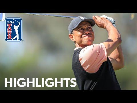 Tiger Woods shoots 2-under 69 | Round 1 | Genesis 2020