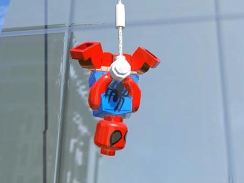 LEGO Marvel Superheroes - SCARLET SPIDER FREE ROAM GAMEPLAY (MOD SHOWCASE)