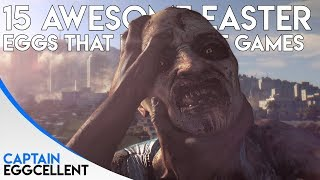 15 AWESOME Easter Eggs That Referenced Other Video Games!