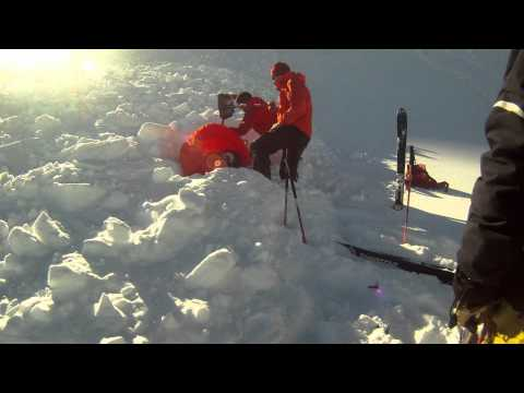 Avalanche Video: SnowPulse in Action (HD) Verbier 2011