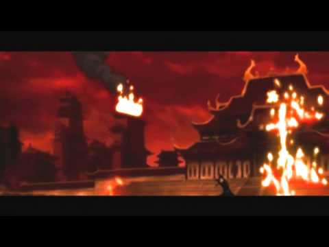 Zuko vs Azula Final Battle Agni kai [HD]