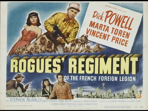 The Fantastic Films Of Vincent Price #19 - Rogues' Regiment