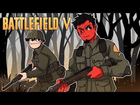 ME AND NOGLA GO TO WAR! | Battlefield V Closed Alpha (Presented By EA)