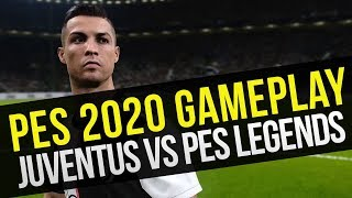 PES 2020 Gameplay ITA: Juventus vs PES Legends