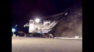 Pala de Cable Eléctrica 495HR Bucyrus 202 Overhaul - Minera Alumbrera Catamarca Argentina Video 1